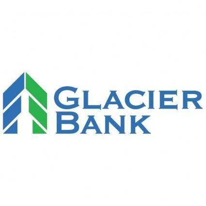 free vector Glacier bank
