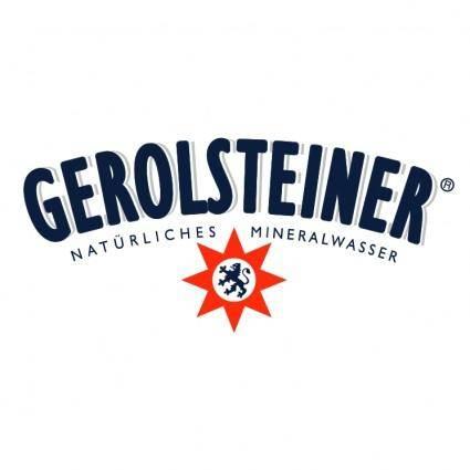 free vector Gerolsteiner