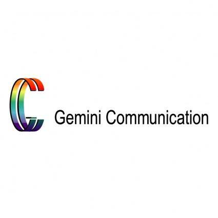 free vector Gemini communication
