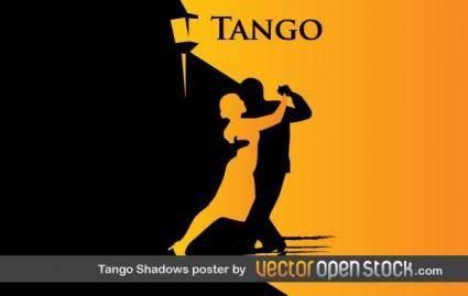 free vector Tango Shadows Poster