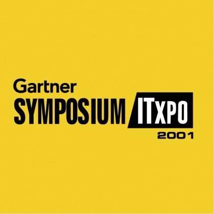 free vector Gartner symposium itxpo 2001
