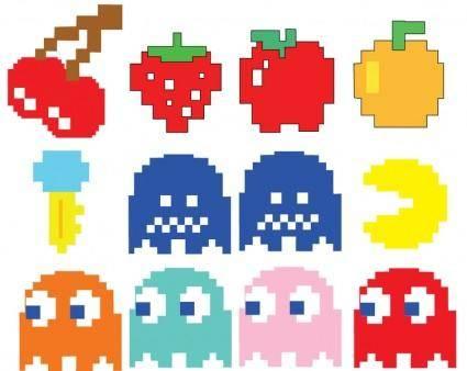 free vector Pacman Vectors