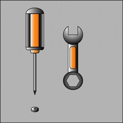 free vector Screwdriver Vector