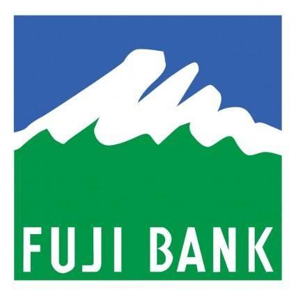 free vector Fuji bank