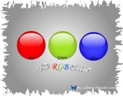 free vector RGB-Color-Bolls