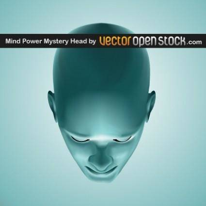 free vector Mind Power Mistery Head