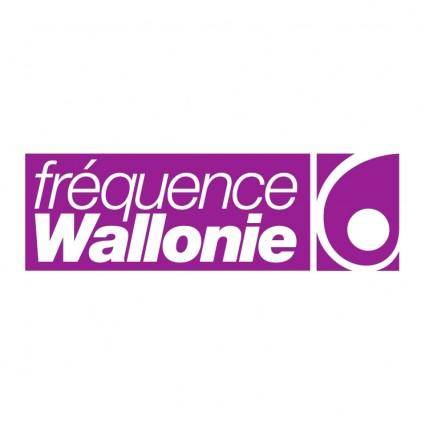 free vector Frequence wallonie