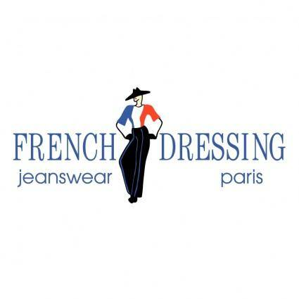 free vector French dressing