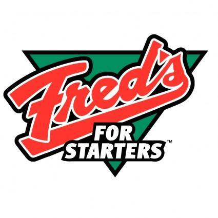 Freds for starters