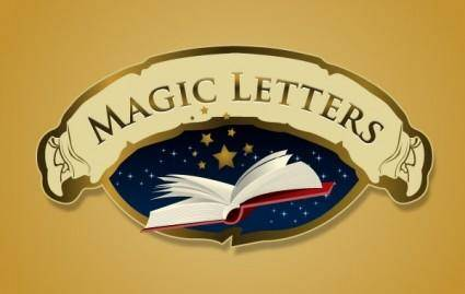 free vector Magic Letters