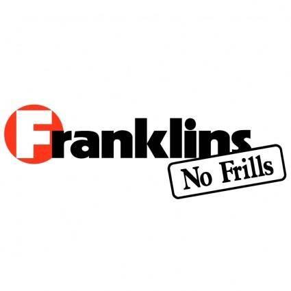 free vector Franklins no frills