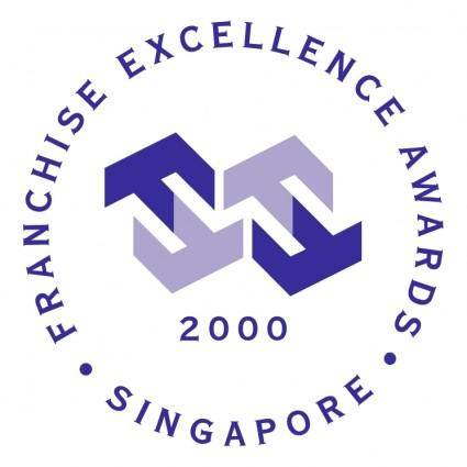free vector Franchise excellence awards