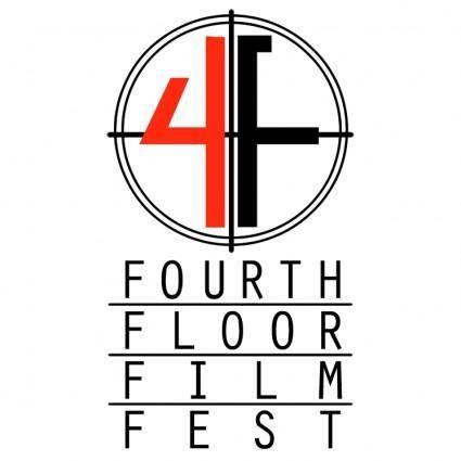 free vector Fourth floor film fest