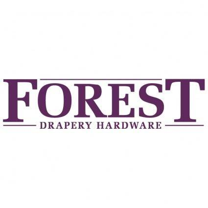 Forest drapery hardware