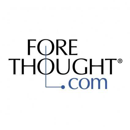 free vector Fore thought