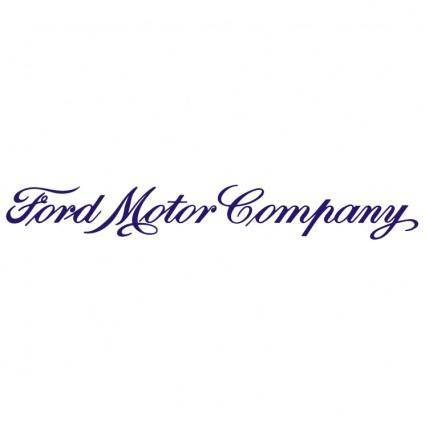 free vector Ford motor company