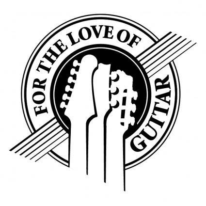 For the love of guitar