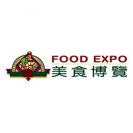 free vector Food expo
