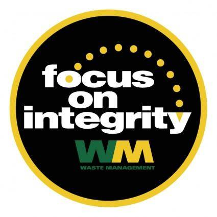 Focus on integrity