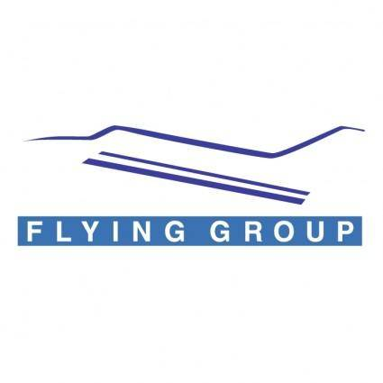 free vector Flying group