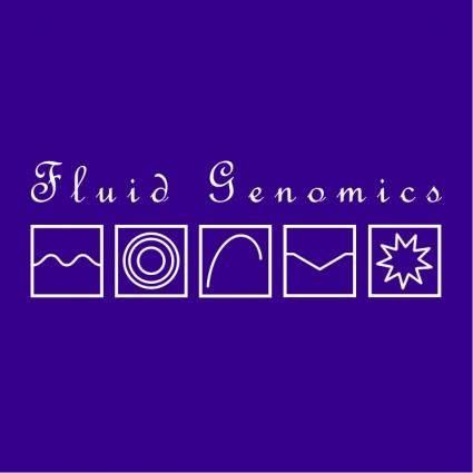 free vector Fluid genomics