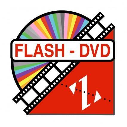free vector Flash dvd