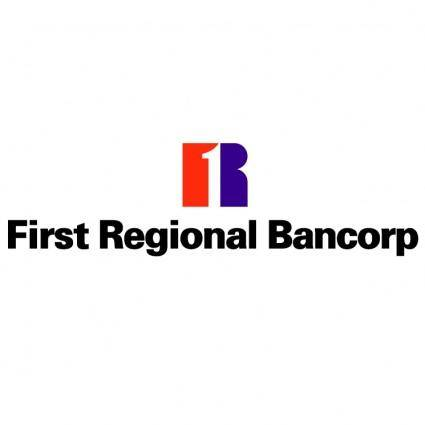 free vector First regional bank