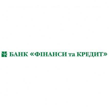 Finansy and credit bank