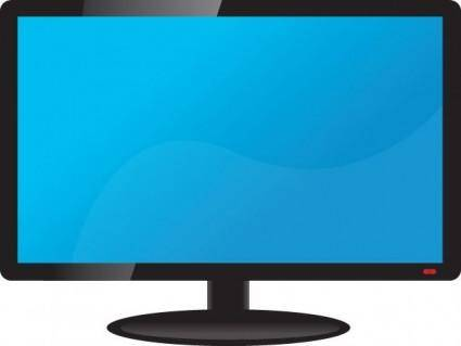 free vector LCD TV Vector