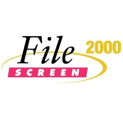 free vector Filescreen