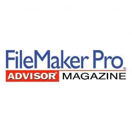 free vector Filemaker pro