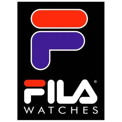 free vector Fila watches