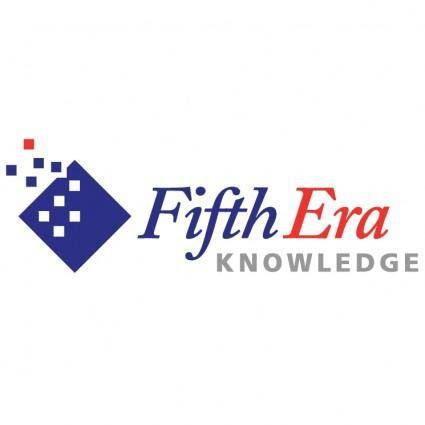 free vector Fifth era knowledge