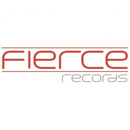 free vector Fierce records