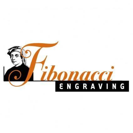 Fibonacci engraving