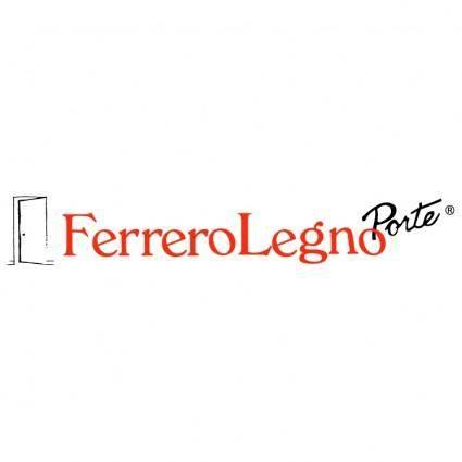 free vector Ferrero legno porte