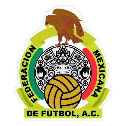 free vector Federacion mexicana de futbol