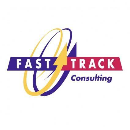 free vector Fast track consulting