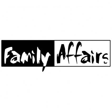 free vector Family affairs