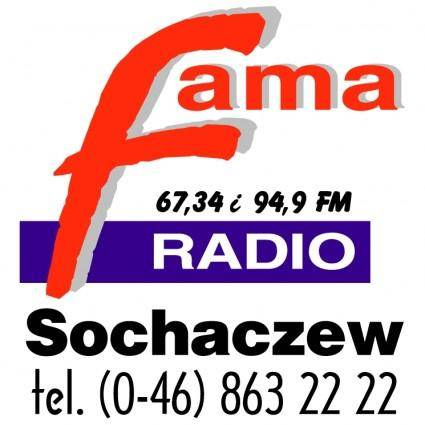 free vector Fama radio