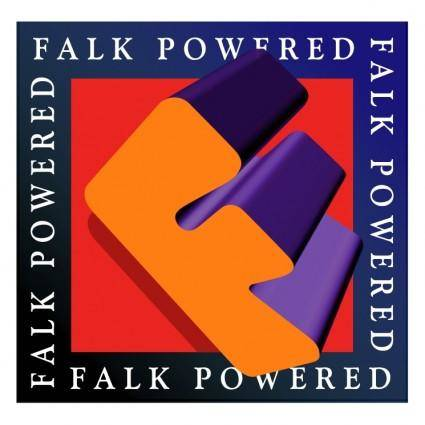 free vector Falk powered