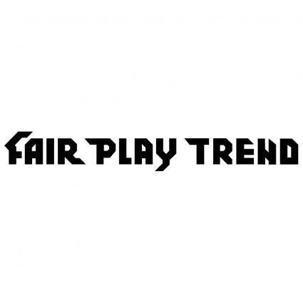 free vector Fair play trend