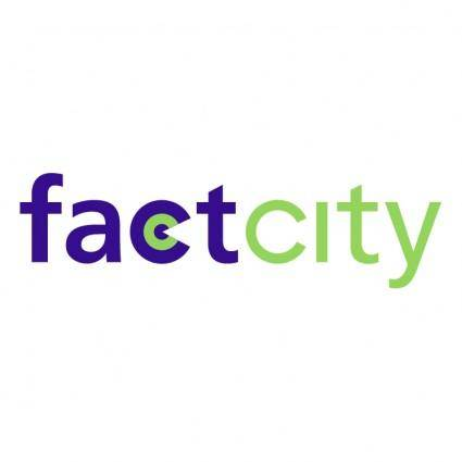 free vector Fact city