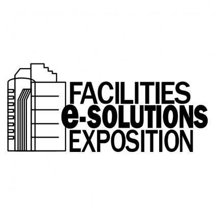 free vector Facilities e solutions exposition