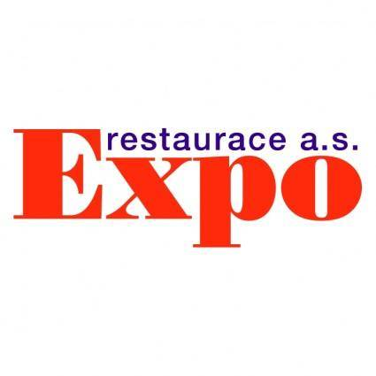 free vector Expo restaurance