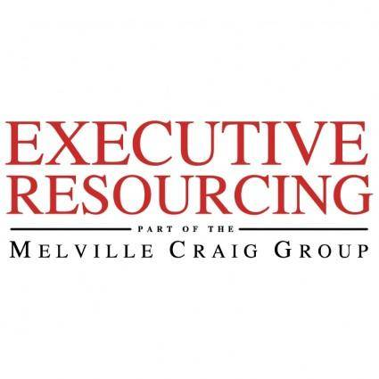 free vector Executive resourcing