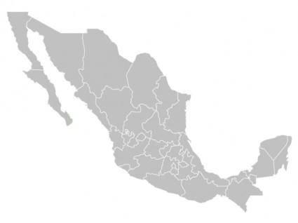 free vector Mapa Mexico Vector