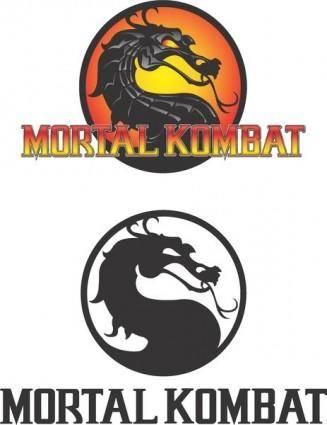 free vector Mortal Kombat Logo