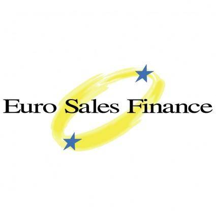 free vector Euro sales finance