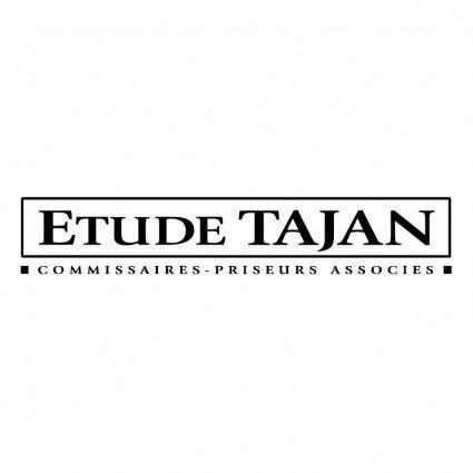 free vector Etude tajan